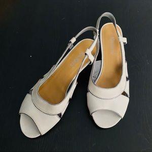 KICKERS katarina retro sandal sling back shoes 2